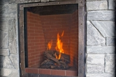 Ironhaus Express Screen - Old World Design With Brick Fire Box