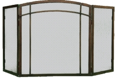 Ironhaus Freestanding Screen Three Panel - Craftsman Design