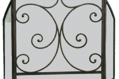 Ironhaus Freestanding Screen Three Panel - Mediterranean Design
