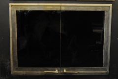 Ironhaus Rectangular Full View Door - No Design With Contemporary Handles