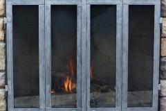 Ironhaus Luxe BiFoldDoor - No Design With Credron Handles