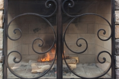 Ironhaus Luxe Cabinet Door - Mediterranean Design With Credron Handles