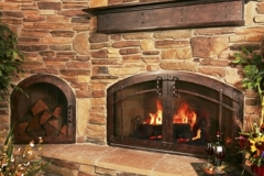 Ironhaus NonCombustible Mantel - Installed For Customer