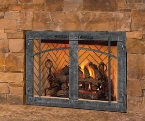Ironhaus Black Friday Sale -Sawtooth Gas Fireplace