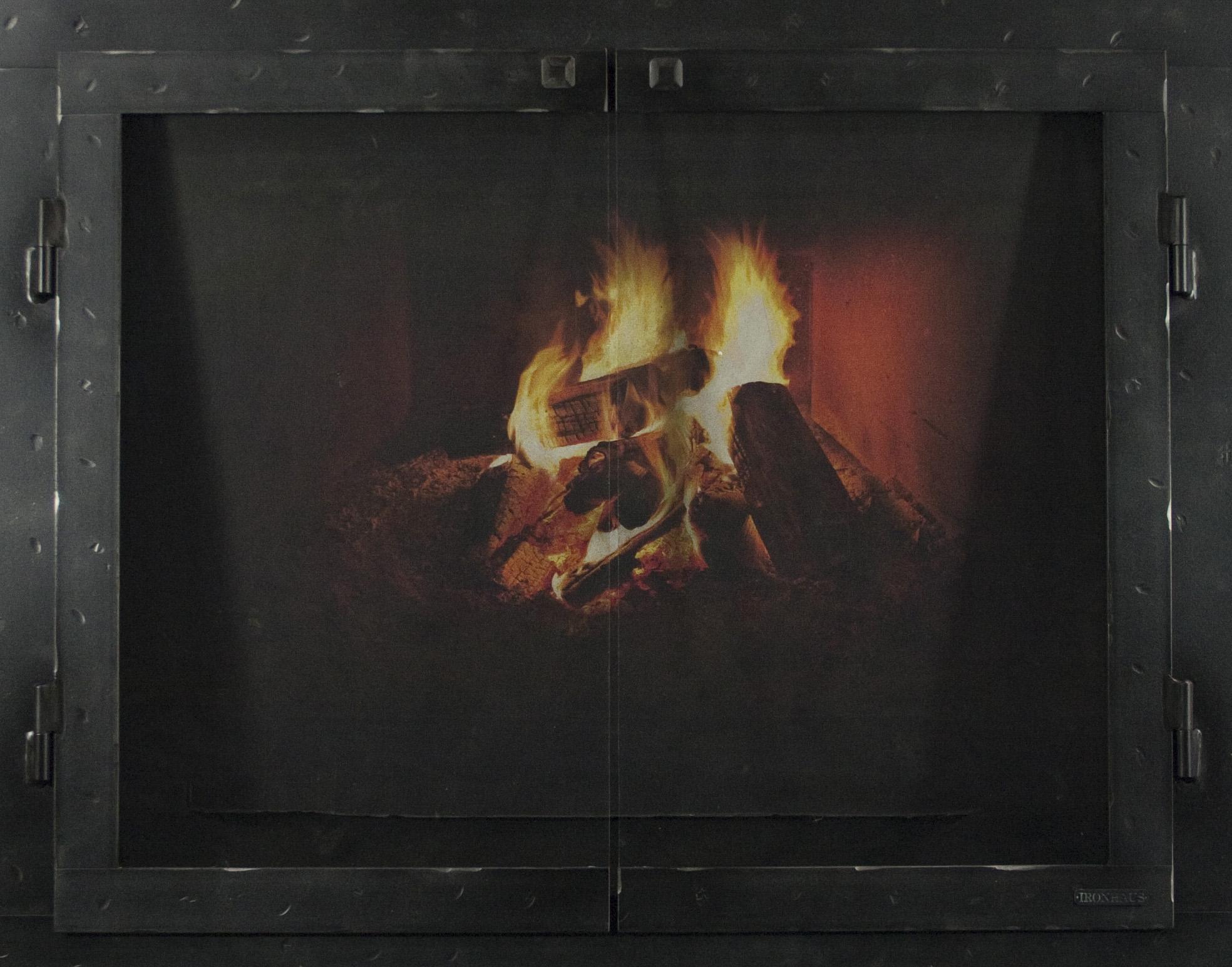 "Black Iron Series Fullview Style 2 1/2"" Frame - Ironhaus"