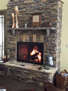 custom fireplace door