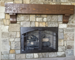 Fireplace reface conversion arch