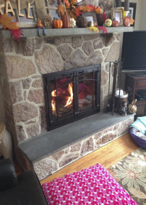 fireplace reface crastsman style 1