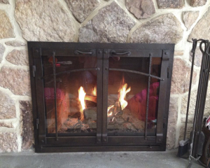fireplace reface crastsman style