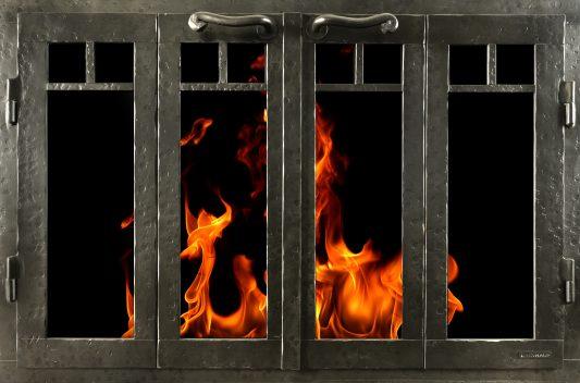 Fireplace Doors by Ironhaus