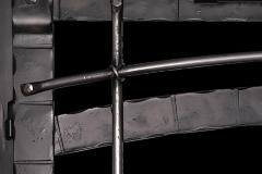 Closeup of Beartooth Forge details