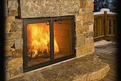 _Classic Cabinet Fireplace Door