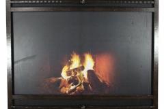 Ironhaus Express Screen - No Design With European Top And Bottom Panels