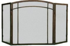 Ironhaus Freestanding Screen Three Panel - Craftsman Design