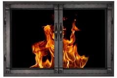 Grayson in Dark Bronze, cabinet doors