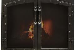 Ironhaus Silhouette Arch Cabinet Door - European Design With Arcadia Handles