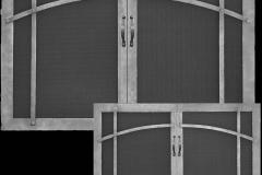 Craftsman Design Pocket Doors