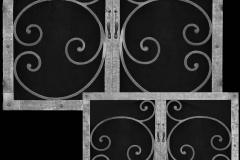 Mediterranean Design Pocket Doors