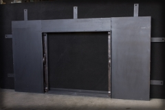 Pocket Door Mountain Design Fully Open